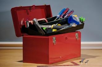 Toolbox für die Markenforschung - © markpeterman - istockphoto